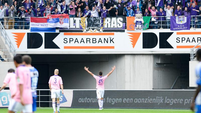 Anderlecht klopt Gent en is herfstkampioen