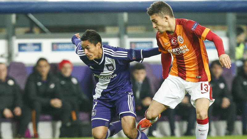 Champions League: Anderlecht - Galatasaray