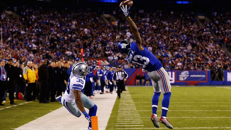 Beckham Jr. maakt 'mooiste touchdown ooit'