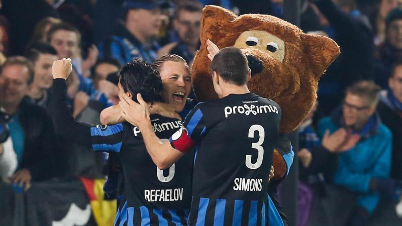 Club Brugge is de nieuwe koploper