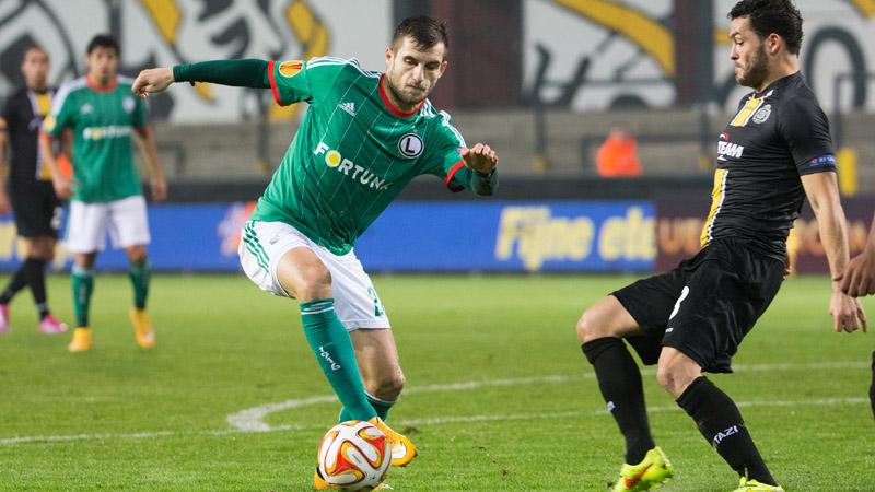 Europa League: Lokeren - Legia Warschau