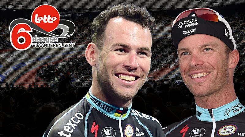 Cavendish en Keisse vormen duo op 74ste Lotto Z6sdaagse Vlaanderen-Gent