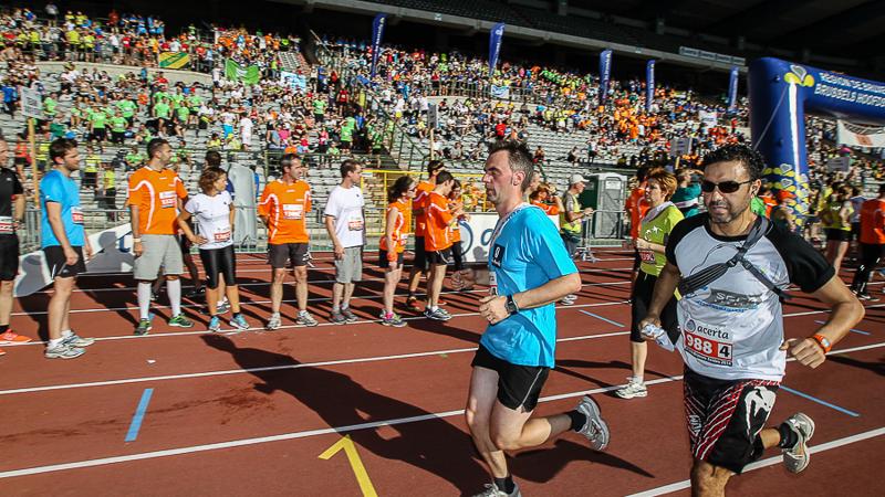 1600 teams present op Acerta Brussels Ekiden