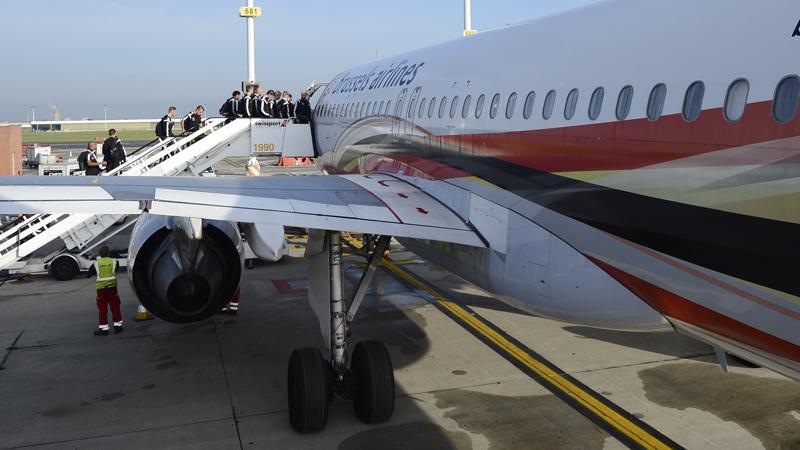 Rode Duivels op weg naar Sarajevo