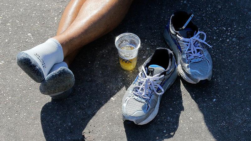 Pintje bier? 11 minuten joggen!