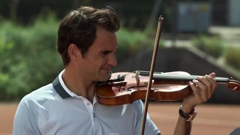 De grappigste momenten van Roger Federer