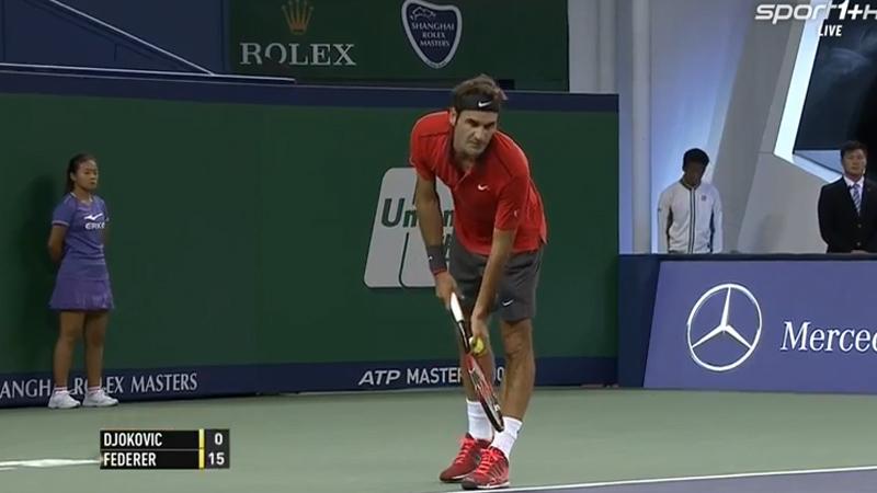 Le jeu rêvé par Federer