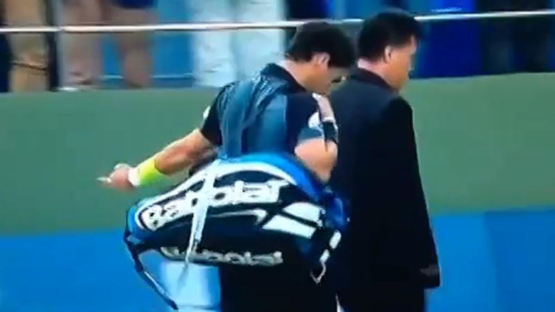 Fognini geeft Shanghai de middelvinger