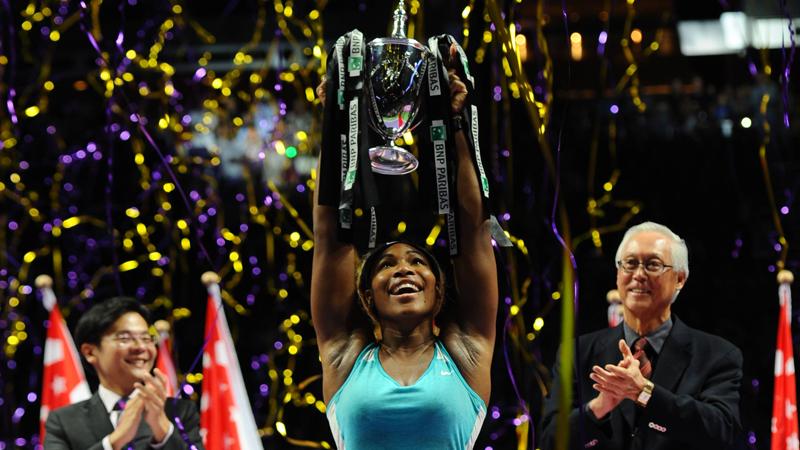 WTA Masters Singapour: Finale