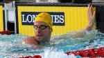 Des remous en natation