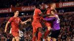 Liverpool gagne 14-13 aux tirs au but contre l'équipe de Vossen