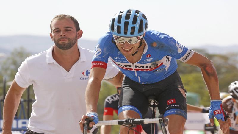 Gebruikte Hesjedal een motortje in Vuelta?