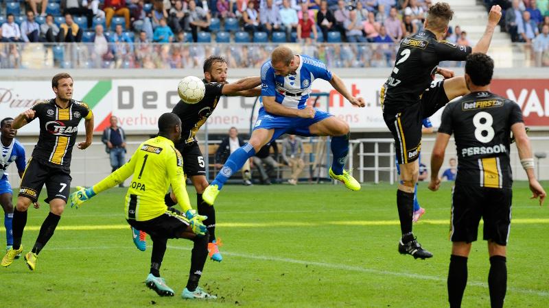 Depoitre sleept punt uit de brand in derby tegen Lokeren