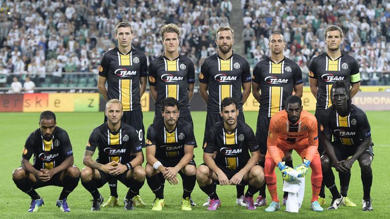 EL: Legia Warschau - Sporting Lokeren