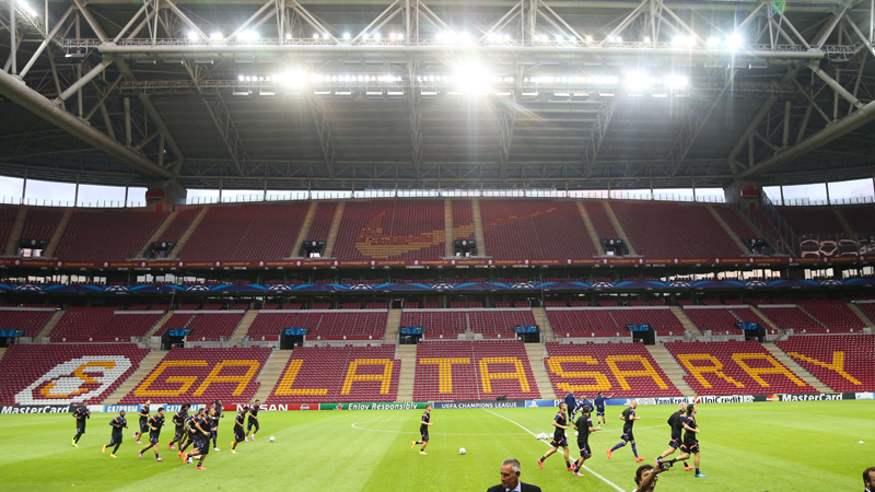 Champions League: Training Istanbul