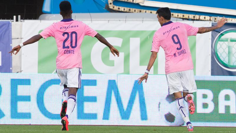 Anderlecht wint met 0-2 bij Zulte Waregem