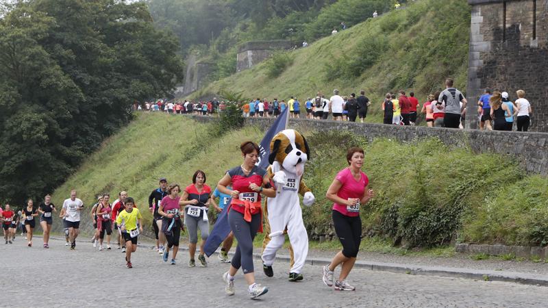 2014: Speciale ervaring op Jogging Ville de Namur
