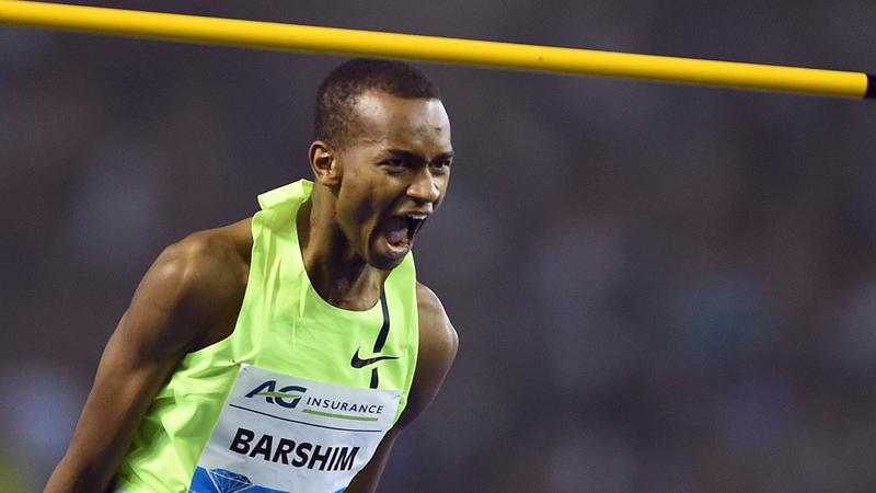 Barshim: 'Ben de prins van het hoogspringen'