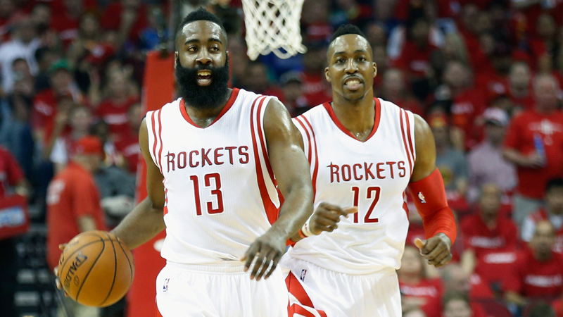 Rockets, Cavaliers en Wizards onder stoom (VIDEO)