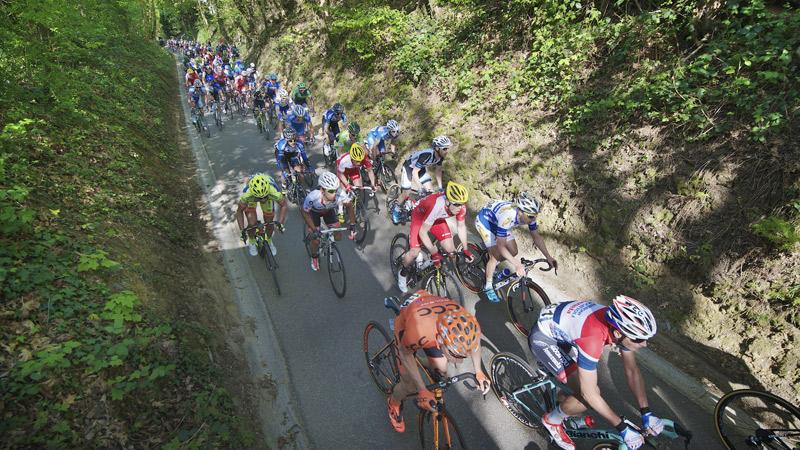De hellingen van de Brabantse Pijl én de Cyclo