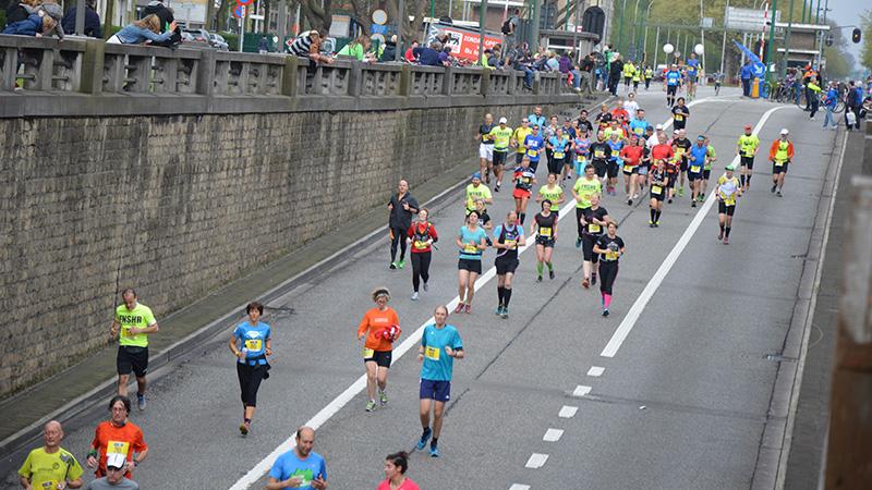 Départ Antwerp Marathon des AP