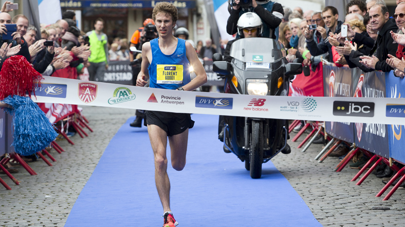 Florent Caelen runs Rio limit at Antwerp Marathon