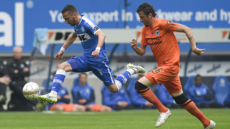 Club knokt zich naar zeer gouden punt in Gent