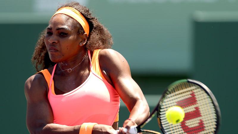 IJzersterke Serena Williams pakt achtste eindzege (VIDEO)