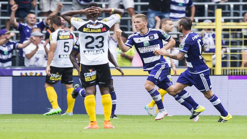 Praet redder voor Anderlecht tegen Lokeren