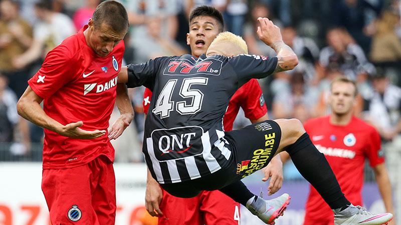 Charleroi en Club Brugge houden bordjes in evenwicht