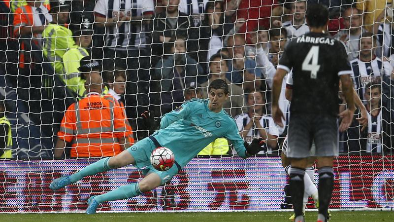 Assist voor Hazard, Courtois stopt penalty (VIDEO)