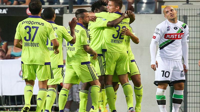 Anderlecht pakt de volle buit op Den Dreef