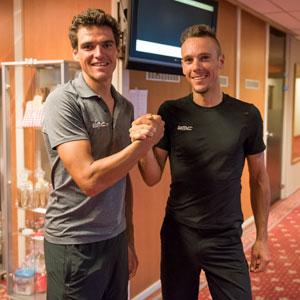 Exclusief: Greg Van Avermaet & Philippe Gilbert