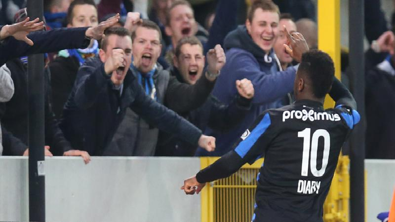 Club Brugge zet zwak Charleroi opzij
