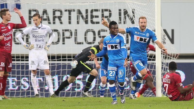 Simon behoedt AA Gent in extremis voor nederlaag