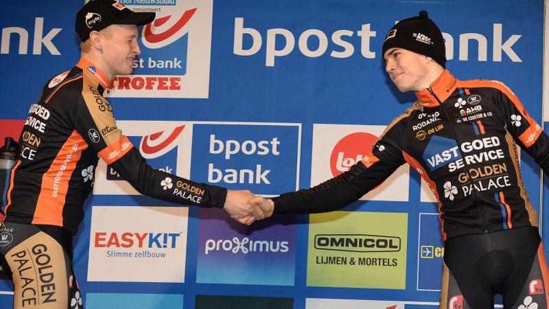 Merlier: 'Wout trok sprint aan'