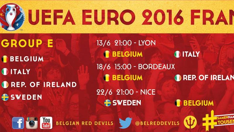 italië en belgië