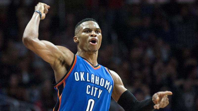 Wervelende Westbrook en Durant (VIDEO)