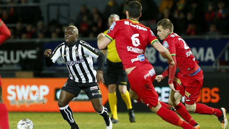 Kebano zet Charleroi op weg naar Play-Off 1