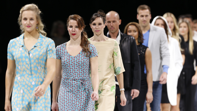 Nys, Bouchard, Borlée,... op de catwalk! (FOTOSPECIAL + VIDEO)