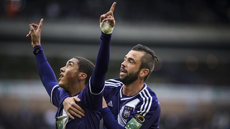 Anderlecht vlot voorbij onmondig Lierse