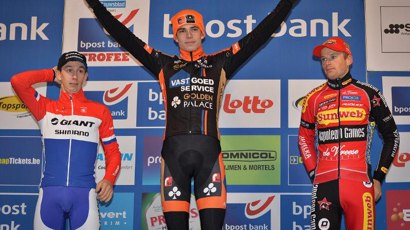 Van Aert: 'Kijk uit naar finale in Lille'