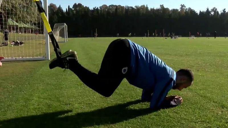 Vazquez opnieuw aan het trainen (VIDEO)