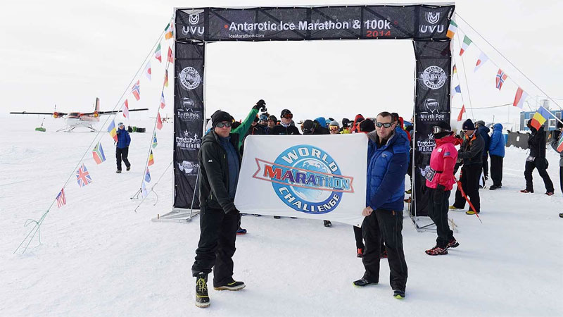 7 marathons in 7 werelddelen in 7 dagen