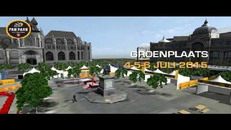 Fanpark Tour de France Antwerpen