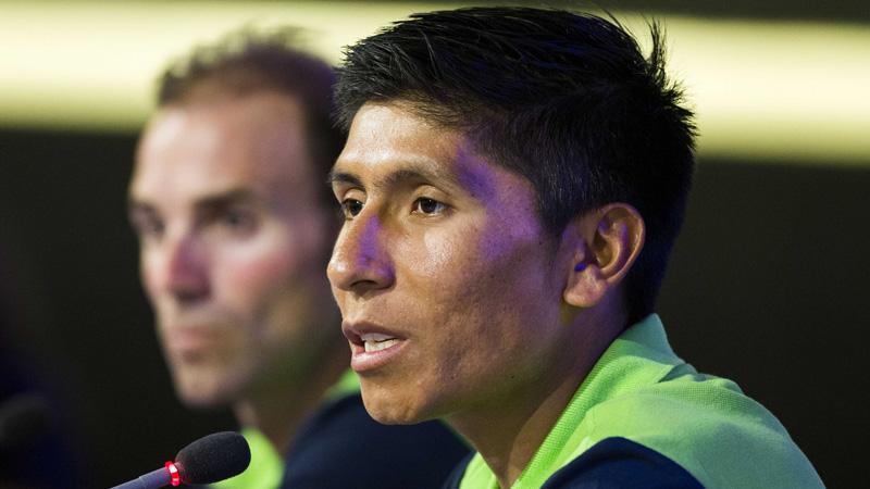 Quintana kaatst de bal terug naar Nibali