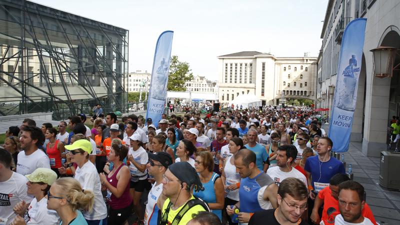 4.000 lopers op eerste DH Brussels Urban Trail®