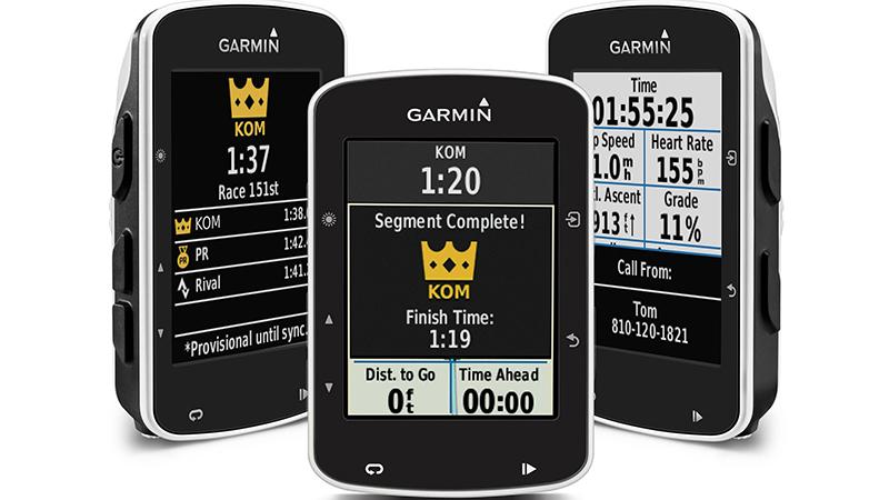 Nieuwe Garmin Edge 520 introduceert live Strava segmenten