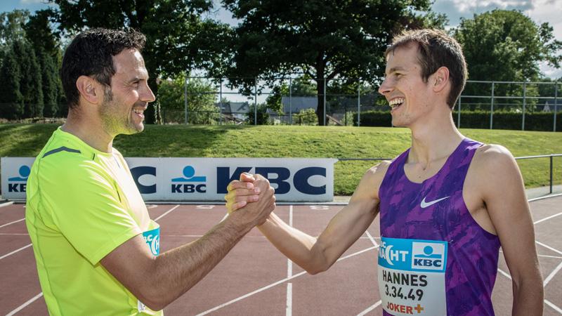 Hannes op zoek naar Belgisch record op KBC Nacht