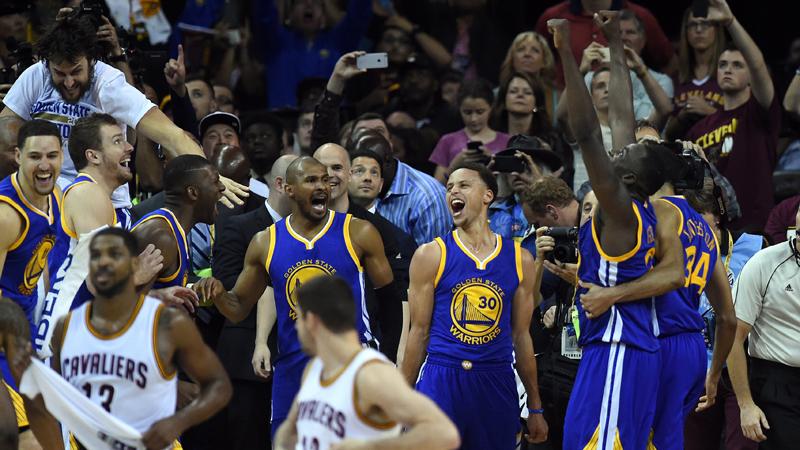 Golden State Warriors na 40 jaar nog eens kampioen (VIDEO)